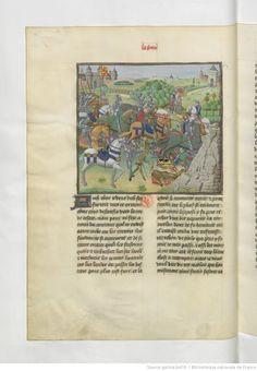 « La geste ou histore du noble roy Alixandre, roy de Macedonne, » traduite d'un « livre rimet,... intitulé l'Istore Alixandre, » par ordre de « Jchan de Bourgongne, conte d'Estampes »   Gallica
