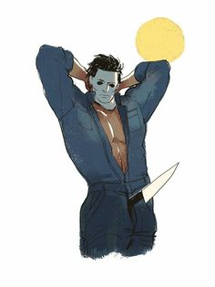 Fotografie Dead by Daylight Michael Myers, Sexy Horror, Funny Horror, Slasher Movies, Horror Movie Characters, Comedy Movies, Horror Icons, Horror Films, Arte Horror
