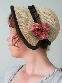Romantic History: Regency Bonnet Attempt #2
