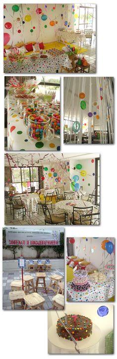 Festa Infantil Sem Painel e sem tema