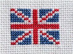Union Jack Cross Stitch                                                                                                                                                     Plus