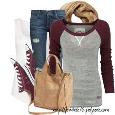 """Casual with my Boys"" by jewhite76 Discover and share your fashion ideas on www.popmiss.com<<< Love this !"