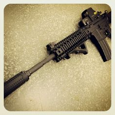 THOR TR15 Carbine with KAC NT4 suppressor #tactical #guns by Knesek Guns, via Flickr