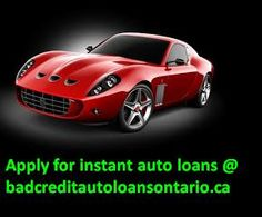Taking a loan through instant auto loans are most beneficial in many ways. These loans are approved quickly, within a working day. So, the loans seeker will saved more time and from a lot of paper work. You have this extra of comparing various instant auto loans packages from your home by applying online with us at bad credit auto loans ontario. To get instant auto loans are a very easy process. All you are required is to fill up an online application form with some required information.