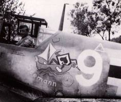 "Bf.109G-6 ""Seamann"" Unit: 7./JG 53 Serial: 9+| (W.Nr.18107) Pilot - Uffz. Georg Amon. Sciacca"