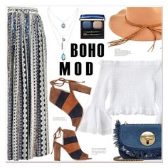"""Boho Mod"" by mycherryblossom ❤ liked on Polyvore featuring 8, Clé de Peau Beauté and See by Chloé"