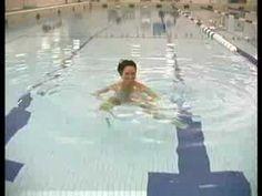Water Aerobics Exercises : Treading Water - YouTube