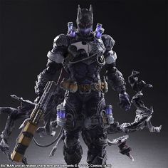 DC COMICS VARIANT PLAY ARTS -KAI- BATMAN™: ROGUES GALLERY – MR. FREEZE – Designed by HITOSHI KONDO   Square Enix Online Store