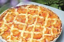 Len sa za ním zapráši: Broskyňový koláč s mriežkou