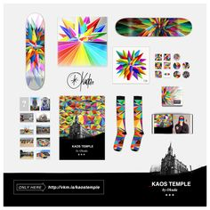 #KaosTemple by Okuda San Miguel. Join us and get exclusive rewards!. More info here: http://www.verkami.com/locale/en/projects/11814-_kaos-temple-by-okuda