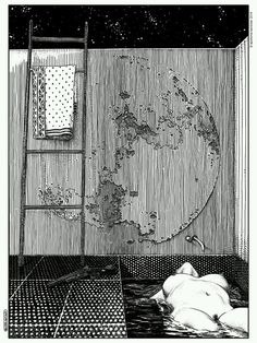 Apollonia Saintclair, La lupara (Don't forget your silver bullets after midnight) on ArtStack #apollonia-saintclair #art