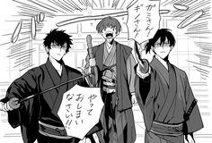 Psycho Pass, Kougami Shinya, Nobuchika Ginoza, Akane Tsunemori