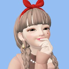 Cartoon Girls, Cute Dolls, Drawing Reference, Sims, Disney Characters, Fictional Characters, Crushes, Korea, Cartoons