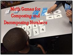 Math Coach's Corner: Engaging Games for Composing and Decomposing Numbers