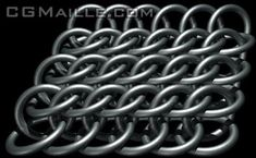 Half Persian 3-1 Sheet 6, Chainmaille Tutorial -CGMaille