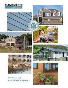 Diamond Kote is an innovative pre-finish built on  LP® SmartSide® for exterior siding, backed by a 30-Year No Fade Warranty. With 30 colors to choose from and a custom color option, the possibilities are endless. Get peace of mind with our engineered products that bring durability and maximum protection for your home.