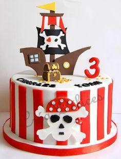 Gâteau Bâteau pirate