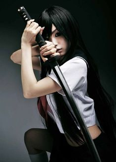 #katana #sword #katana girl #katana babe