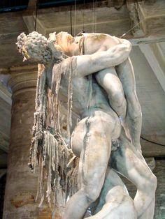 Urs Fischer's Untitled wax sculptures at the 2011 Biennale in A modern twist on Italian Baroque art! Italian Baroque, Baroque Art, Baroque Sculpture, Sculpture Art, Weekend In Venice, Art Of Memory, Wax Art, Venice Biennale, Installation Art