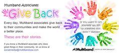 Multiband Associates Give Back