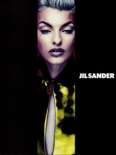 Jil Sander Fall/Wint 1991 - Linda Evangelista by Nick Knight