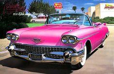 ピンク キャデラック オープン (1958)マイクロエース(プラモデル)