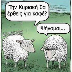 """Speed Bump: Every time I say """"Bah"""" doesn't mean you have to say """"Humbug."""" Speed Bump: Every time I say Bah doesn't mean you have to say Humbug. Sheep Cartoon, Cartoon Jokes, Funny Cartoons, Funny Cats, Funny Animals, Funny Sheep, Sheep Meme, Cartoon Fun, Sheep Dogs"""