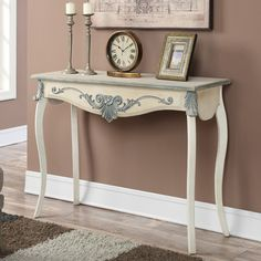 August Grove French Provence Park Lane Console Table