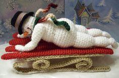 Fun in the SnowPDF Crochet Pattern by KTBdesigns on Etsy, $5.00