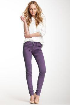 I love these plummy purple pants!