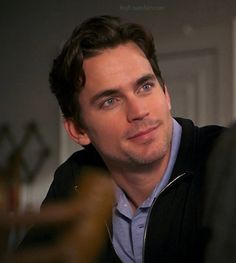 MB - Neal is always paying attention, handsomely of course.