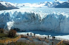 One of the most incredible forces of nature, the glacier, is found in the southern most tip of El Calafate, Argentina. Amazing!