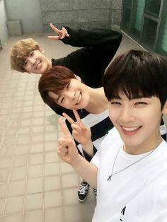 EunWoo, MoonBin and Sanha