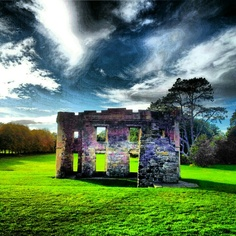 Eglinton Castle Ruin Ayrshire Scotland