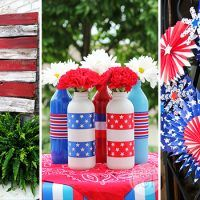 Take a look at our latest collection of DIY projects featuring 15 Awesome DIY of July Decor You Need To Make Now. Pillow Tutorial, Wreath Tutorial, Refrigerator Cake, Pallet Flag, Painting Burlap, Burlap Flag, Light Garland, 4th Of July Decorations, Mason Jar Candles