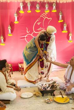 South Indian wedding rituals. Wedding decor and mandap design.