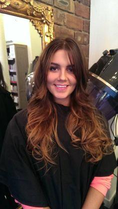 Hair  by Miss Barton's salon  #glasgow #westend #hairupdo #hair #colour #prom #bridal #blowdry  #creative #ombre