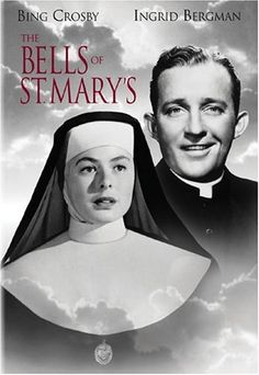 The Bells of St. Mary's DVD ~ Bing Crosby and Ingrid Bergman. one of my soooo fave movies. Old Movies, Vintage Movies, Great Movies, Movies Showing, Movies And Tv Shows, Best Christmas Movies, Holiday Movies, Christmas Classics, Christmas Music
