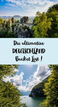 The Germany Bucket List! - Sophia& world - What must and should you have seen and experienced in Germany? Here you can find my Germany Bucket - Reisen In Europa, Voyage Europe, Destination Voyage, By Train, Europe Destinations, Travel Images, Travel Pictures, Romantic Travel, Germany Travel