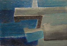 Lighthouse Blue  MARGARET MELLIS (1914 - 2009)