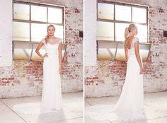 Karen Willis Holmes wedding dress bridal collection