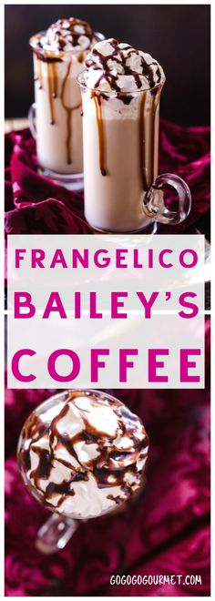 Frangelico Bailey's Coffee via (winter drinks baileys) Christmas Drinks Alcohol, Party Drinks Alcohol, Drinks Alcohol Recipes, Yummy Drinks, Alcoholic Drinks, Hot Drinks With Alcohol, Christmas Mocktails, Drink Recipes, Beverages