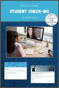 This product contains 5 google forms student-check ins including SEL, building relationships, academics, student reflection and fun. These can be adjusted or delivered as is to your students. Great for getting feedback from students and connecting!  #distancelearning #socialemotionalearning #SEL #GAFE #socialstudies #googleapps #elearning #studentcentered #buildingrelationships