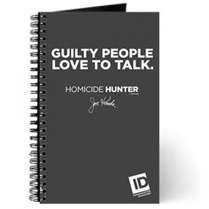 $13   Homicide Hunter Guilty People Journal