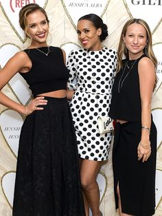 Star Tracks: Wednesday, February 4, 2015 | ALL THAT GLITTERS | Jessica Alba, Kerry Washington and Jennifer Meyer Maguire are such gems at the Gilt and (RED) bash to celebrate the launch of Maguire and Alba's jewelry collaboration at Sunset Tower Hotel on Tuesday in West Hollywood.