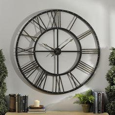 This gorgeous Addison Wall Clock is marked down to $39.98. Sale lasts through 7/19.