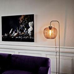 New Scandinavian Design Office Lamp, Vida Design, Organic Form, Messing, Scandinavian Design, Lighting Design, Floor Lamp, Oversized Mirror, Wall Lights