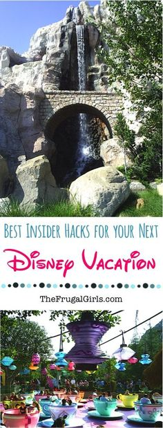 Best Insider Hacks for your next trip to Disneyland or Disney World! ~ from TheFrugalGirls.com ~ you'll LOVE these insider hidden secrets and tricks for planning your next Disney vacation to Southern California or Florida! #disneyworld #thefrugalgirls