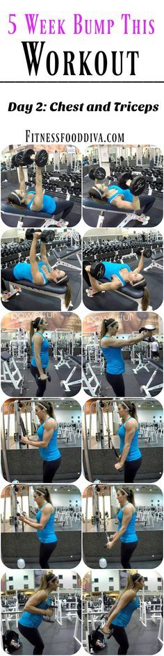 5 Week Bump This Workout: Day 2