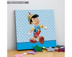Πινόκιο, παιδικός - βρεφικός πίνακας σε καμβά,12,90 €,http://www.stickit.gr/index.php?id_product=18527&controller=product